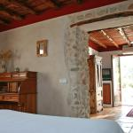 Romantic room in the Rural Hotel Can Pujolet, Ibiza