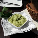 Kichererbsen Mousse (anstatt Butter) zum selbstgebackenen Brot - einfach wundebar