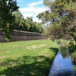 Lucca, Le Mura: nei pressi di porta San Pietro