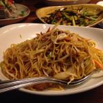 Shrimp Lo Mein - they spiced up my husband's.