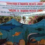 Taqueria Mexico Lindo en Poneloya, Nicaragua.