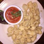 Calamari App with Spicy Tomato Sauce