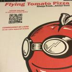 Flying Tomato Pizza Box