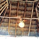 Piedra Bungalow -- palapa ceiling