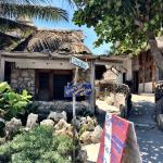 Piedra Bungalow -- view of bungalow from the malecon