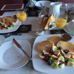 Best breakfast during our entire stay!