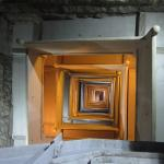 Looking down the stairwell from the top of the monument - don't worry you CAN do it!!