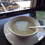 Zucchini Soup--quite yummy