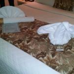 Decoración con toallas