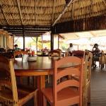 Inside view of De Tatch restaurant