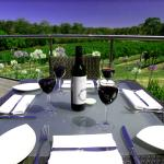 Wine and dine overlooking our picturesque estate