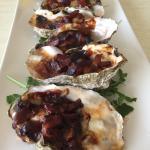 Jumbo oyster kilpatrick