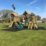 New play area for children - the kids love it.