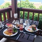 Vista Incrível do Café da manhã!