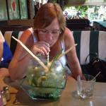 Mojito Fish Bowl Cocktail for 3-4 people - or just 2!!