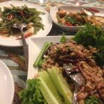 Excellent Larb Gai and other delectable food