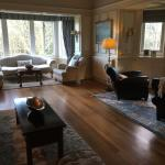 The dining room extension