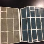 before & after cleaning the filters