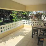 ground studio balcony