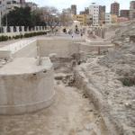 The Sarapeum site