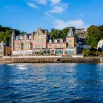 The beautiful Alexandra Hotel, Oban Esplanade