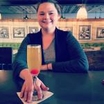 Peach Bellini's make us smile