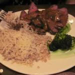 Mushroom Marsala Style Steak.