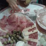cerveza y fiambres en Paris