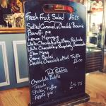 The Camden Arms Restaurant | Dessert Menu