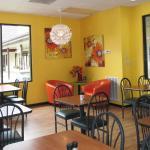 Sassy Sunflower Cafe interior