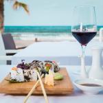 Sushi en la playa