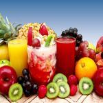 Variedad de frutas naturales