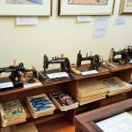 Generations of sewing machines