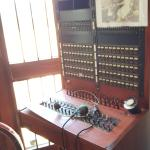 Few know it is a phone switchboard from the 1950s