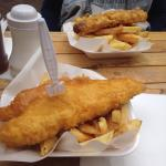 Good quality fish and chips