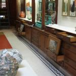 Fine Art at Baxter's, drawers with great treasures.