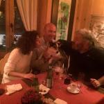 Con Sveva, Corrado e Tabù a Le Braconnier di Rougemont :-)