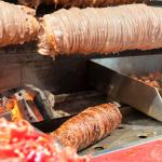 Kokoreç. Offal wrapped in lamb's intestines. Not to be missed!