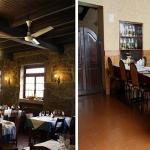 Os dois salões da Taberna Rocha Pereira
