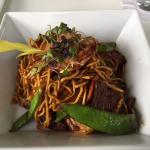 Surf & Turf Lo Mein was fantastic. It's been two weeks and I can still recall the flavor.