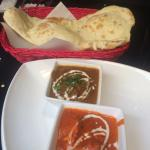 lunch special - butter chicken and mutton korma