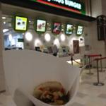 Mos Burger, fast food chain with vegetarian options, yay!