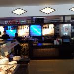 Theke, Bar im hinteren Restaurant