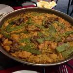 Paella Valenciana with Rabbit