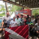 Grupo de buzos de Escuela de Buceo MUNDO ACUÁTICO COSTA RICA