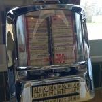 Every booth had a juke box