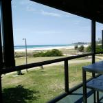 What a view beach front lunch was awesome