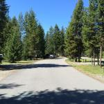 Almost an empty campground at the end of April - great weather too