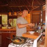 Kitchen in action!