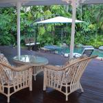 Relax on the veranda over looking the pool.